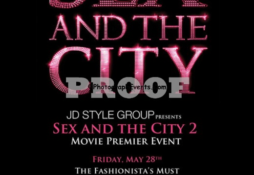 Sex and the City 2 Movie Premier Party
